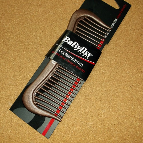 Babyliss wide tooth comb supplied by Longhaired Jewels